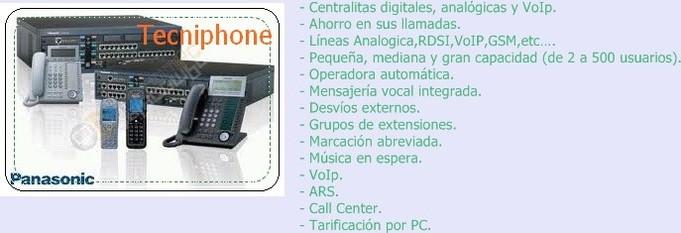 centralita telefonica precios
