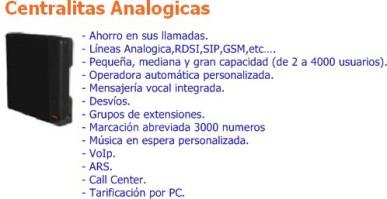 venta Centralitas telefónicas analógicas Alcatel-Lucent