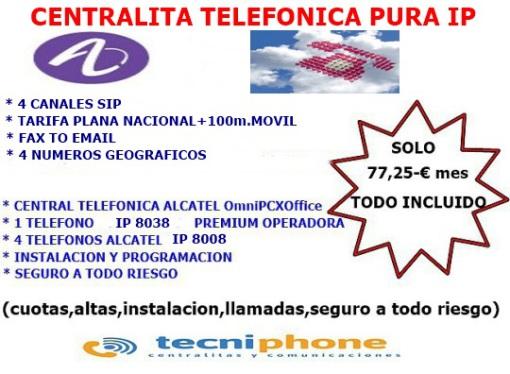 centralitas telefonicas alcatel