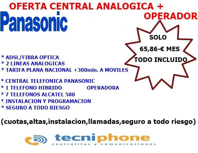 Centralita Telefonica Analogica