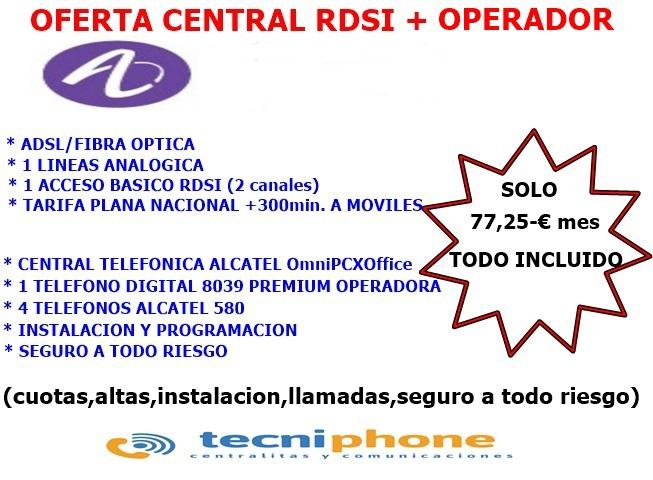 Centralita Telefonica +Operador